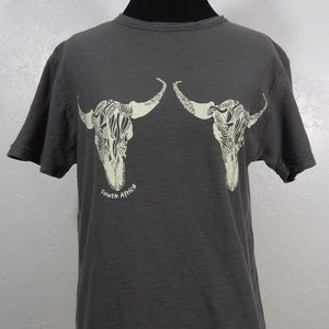 Cow Skulls Tee by Earth Lover Made in South Africa